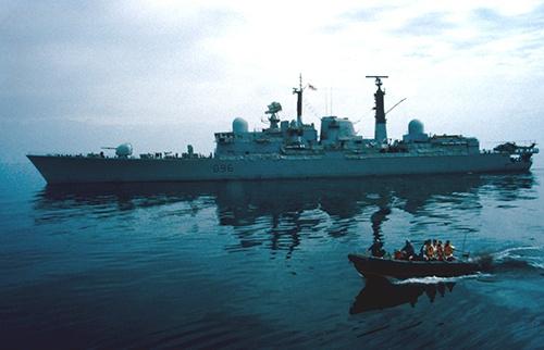 HMS Gloucester by nobby1