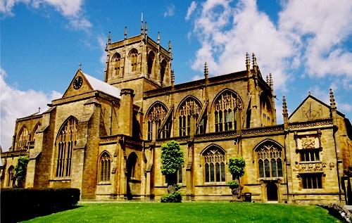 Sherborne Abbey by nobby1