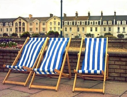 3 Deck Chairs by Eye4Photo