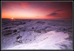 Sunrise at Mam Tor