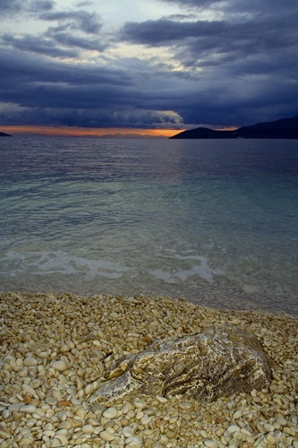 Stormy greek dawn by MattB
