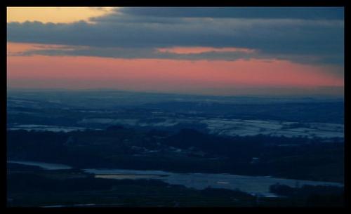North Satffordshire Sunset by scottf75
