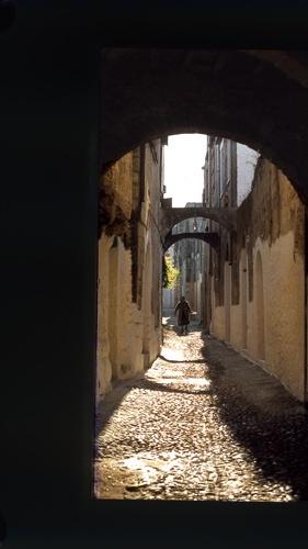 Greek Alley by Jaye