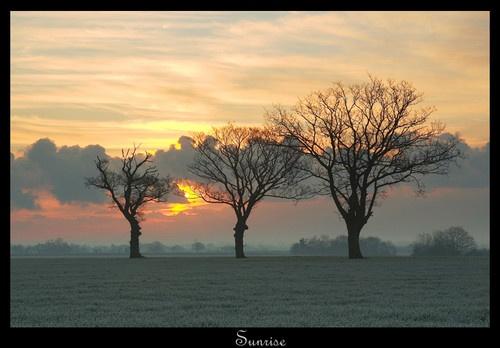 Sunrise by Chriscj