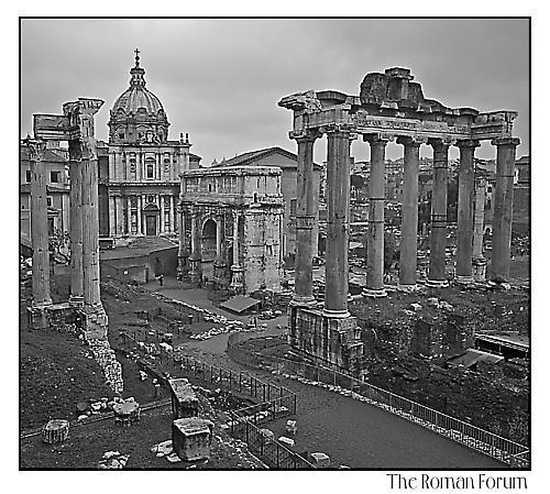 Roman Forum by gmuncaster