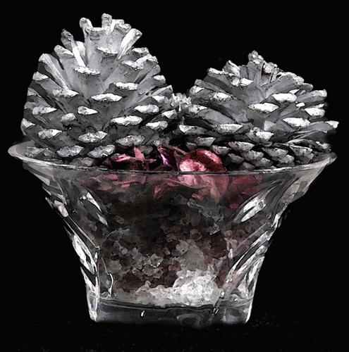 Silver Acorns by robert5