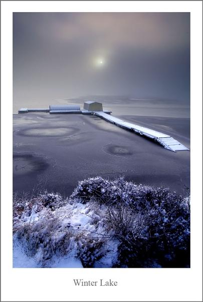 Winter Lake by stevie