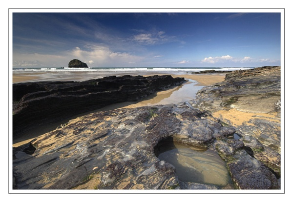 Trebarwith Strand Part II by eos3