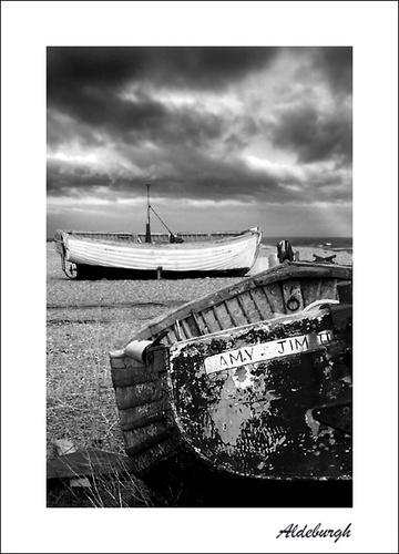 Aldeburgh Boats by jennywren