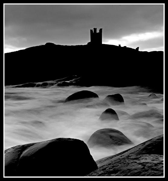Eerie Dunstanburgh by Nixy