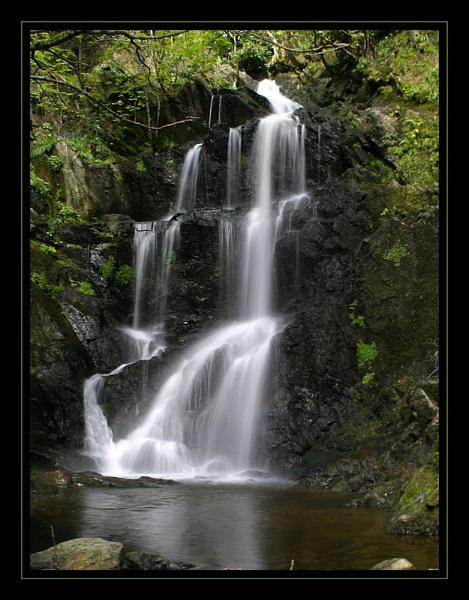 Laxey Waterfall by kwaterworth