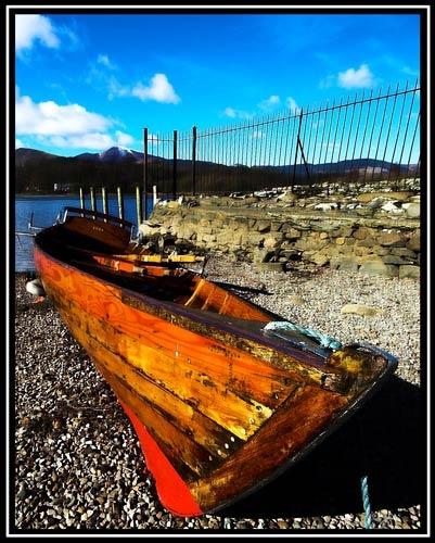 Derwent Water Boat by 1nten5e