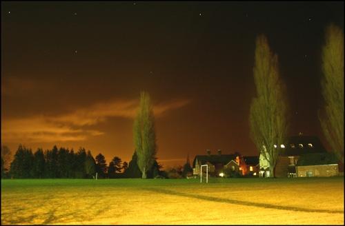 Field at Night by MichaelSingleto