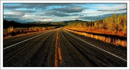 Alaska Highway by lucinka