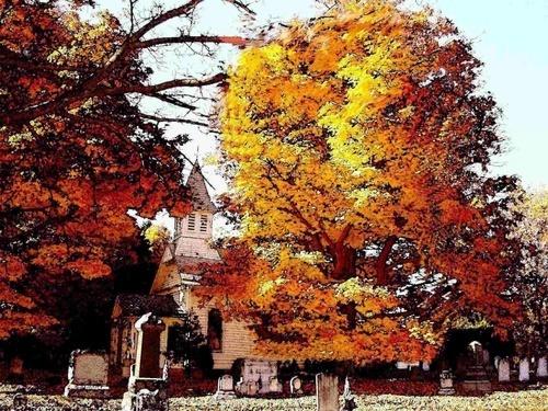 New Jersey in Fall by marymangru