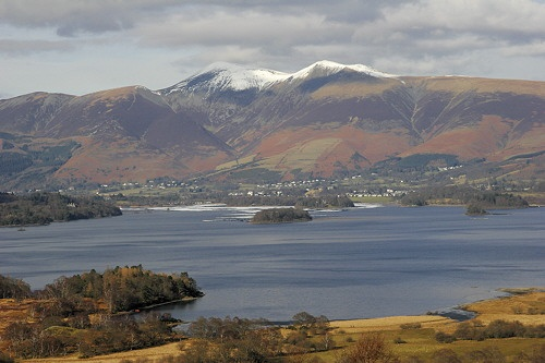 Snow Capped Skiddaw by railton