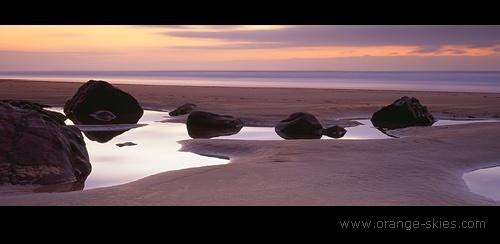 Sandymouth Bay by davidentrican