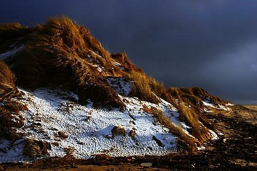 Snowy Dunes by ericfaragh