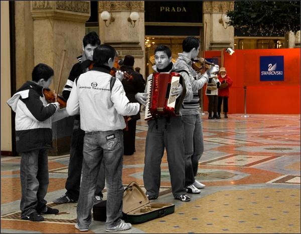 Sergio Tacchini team vs Prada & Swarovski by joko