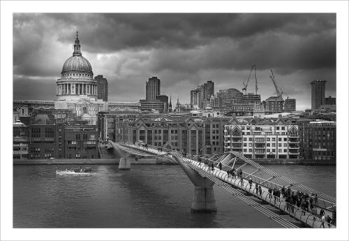 Bridge to St Pauls by paul162brown