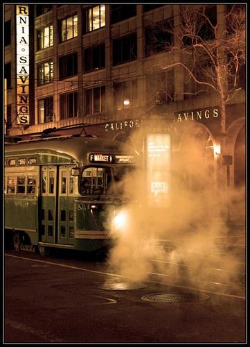 Frisco Electric Tram by liparig