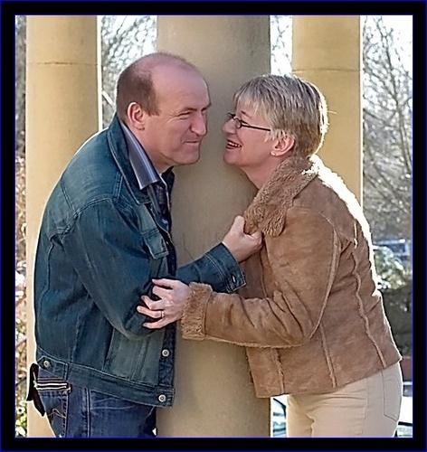 Pauline and Ian by vparmar