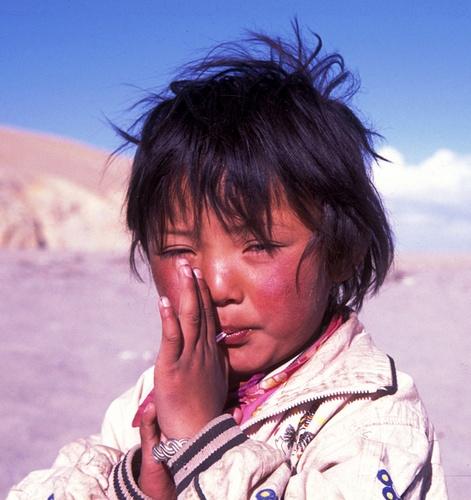tibetian beauty by gilman