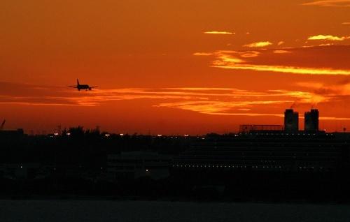 Miami Sunset by cantona43
