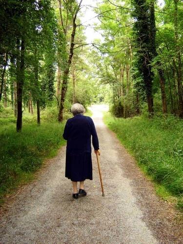 Long walk home by marymangru