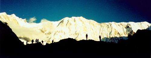 Annapurna Sunrise by mdilley