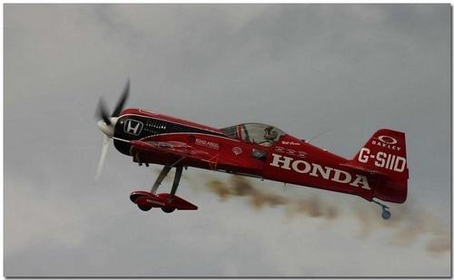 Airborne Honda by CraigSev