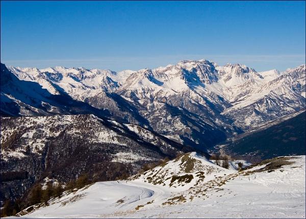 Sauze d\'Oulx, Col Basset peak by joko
