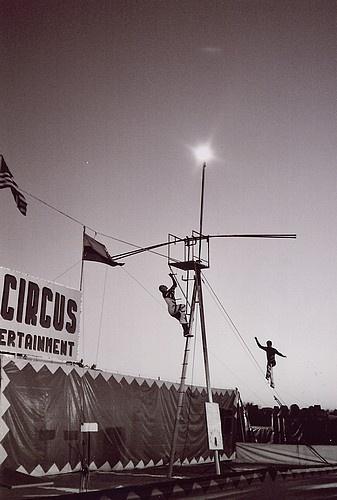 Acrobats by pperilla