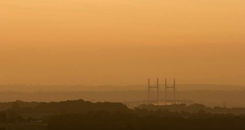 Bridge at Dawn by samstan