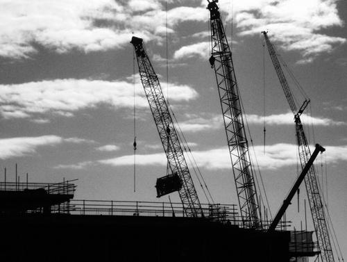 Construction at Dawn by kemic