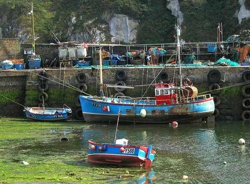 fishing boat by bigbrum