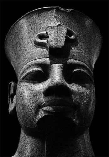 Egyptian Statue by John_Frid
