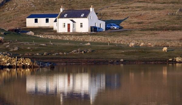 white cottage by ireid7