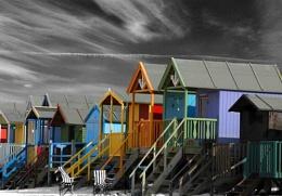 oh no more beach huts!