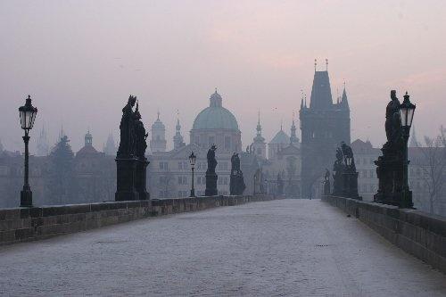 Prague Bridge by abtayler