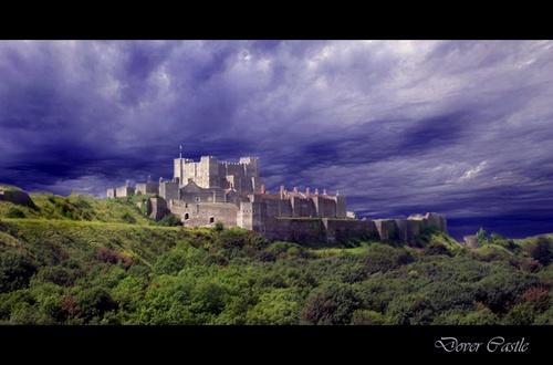 Dover Castle by jennywren