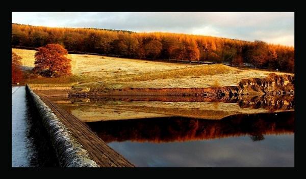 Landscape by sunshot
