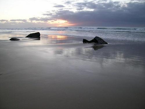 *Sunrise on the Beach* by aussielass
