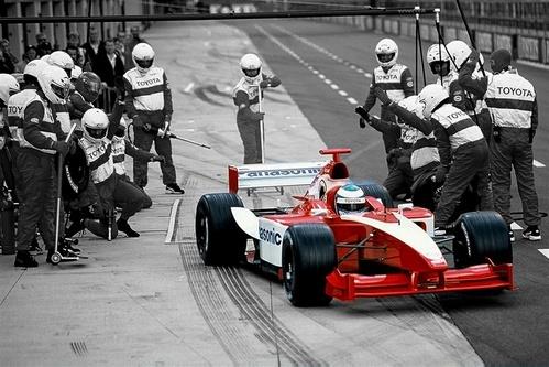Toyota F1 by Sakkie