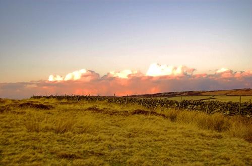 dusk at curbar edge by tobybongo