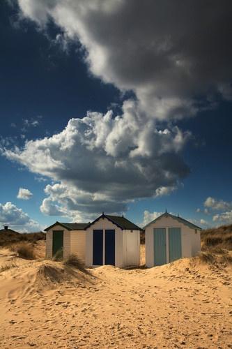 Southwold beach huts by Chriscj