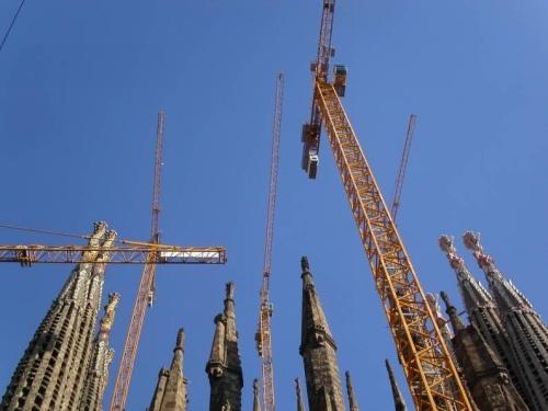 The Sagrada Cranes by midgemckay