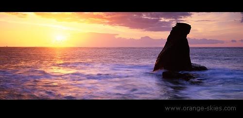 Lizard Sunrise by davidentrican