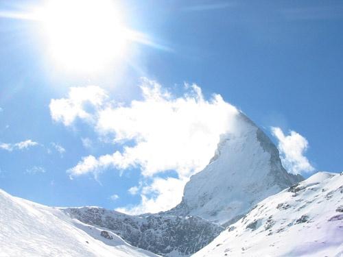 Matterhorn in the Sun by fredforsyth