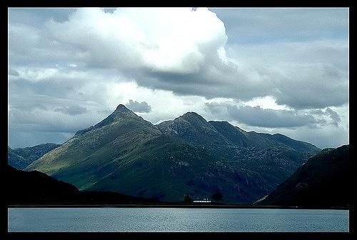 Sgurr na Ciche from Loch Nevis by dalischone